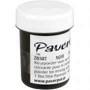 Paver Color, 40 ml, svart