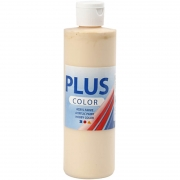 Plus Color hobbyfärg, ivory light, 250 ml/ 1 flaska