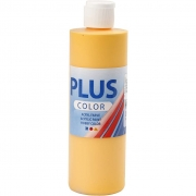 Plus Color hobbyfärg, yellow sun, 250 ml/ 1 flaska