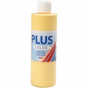 Plus Color hobbyfärg, crocus yellow, 250 ml/ 1 flaska