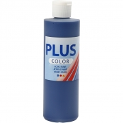 Plus Color hobbyfärg, marinblå, 250 ml/ 1 flaska