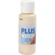 Plus Color hobbyfärg, ivory light, 60 ml/ 1 flaska