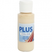 Plus Color hobbyfärg, ivory beige, 60ml