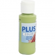 Plus Color hobbyfärg, leaf green, 60 ml/ 1 flaska