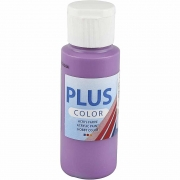 Plus Color hobbyfärg, dark lilac, 60 ml/ 1 flaska