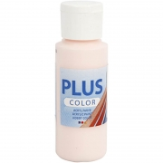 Plus Color hobbyfärg, pale rose, 60 ml/ 1 flaska
