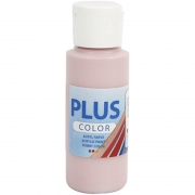 Plus Color hobbyfärg, dusty rose, 60 ml/ 1 flaska