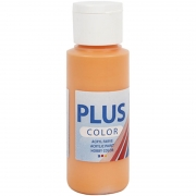 Plus Color hobbyfärg, pumpkin, 60 ml/ 1 flaska