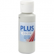 Plus Color hobbyfärg, ljusgrå, 60 ml/ 1 flaska