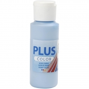 Plus Color hobbyfärg, himmelsblå, 60 ml/ 1 flaska
