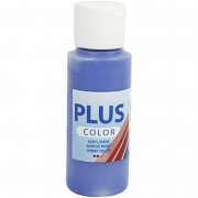 Plus Color hobbyfärg, ultra marine, 60 ml/ 1 flaska