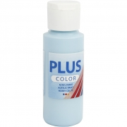 Plus Color hobbyfärg, isblå, 60 ml/ 1 flaska