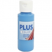 Plus Color hobbyfärg, ocean blue, 60 ml/ 1 flaska