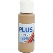 Plus Color hobbyfärg, antikguld, 60 ml/ 1 flaska