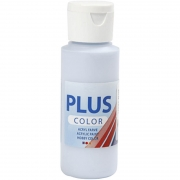 Plus Color hobbyfärg, ljusblå, 60 ml/ 1 flaska