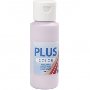 Plus Color hobbyfärg, pale lilac, 60 ml/ 1 flaska