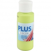 Plus Color hobbyfärg, limegrön, 60 ml/ 1 flaska