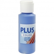 Plus Color hobbyfärg, cobolt blue, 60 ml/ 1 flaska