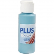 Plus Color hobbyfärg, turkos, 60 ml/ 1 flaska