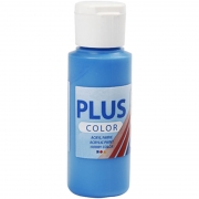 Plus Color hobbyfärg, primärblå, 60 ml/ 1 flaska