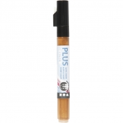 Plus Color tusch, spets: 1-2 mm, L: 14,5 cm, raw sienna, 1st.