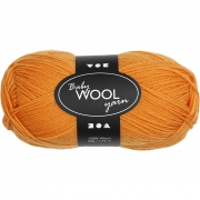Babygarn, L: 172 m, orange, NM 14/4 , 50g