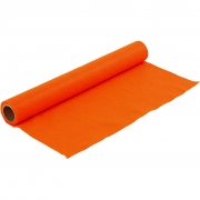 Hobbyfilt, B: 45 cm, tjocklek 1,5 mm, orange, 1m, 180-200 g/m2