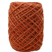 Naturhampa, tjocklek 1-2 mm, orange, 30m