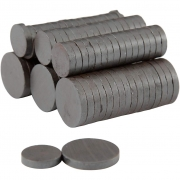Magnet, dia. 14+20 mm, tjocklek 3 mm, 500st.