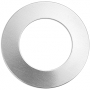 Tag, dia. 32 mm, tjocklek 1,3 mm, aluminium, Ring, 9st., hålstl. 19,32 mm