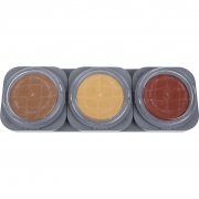 Cake make-up palet, 3x35g
