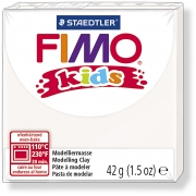FIMO® Kids Clay, vit, 42g