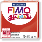 FIMO® Kids Clay, röd, 42g