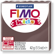 FIMO® Kids Clay, 42 g, brun