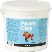 Foam Clay®, vit, 560g