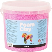 Foam Clay®, neonrosa, 560g