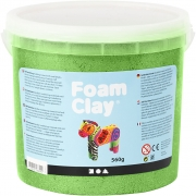 Foam Clay®, grön, metallic, 560g