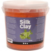 Silk Clay®, orange, 650 g/ 1 hink