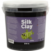 Silk Clay®, svart, 650 g/ 1 hink