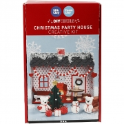Julhus, Christmas party house, 1set