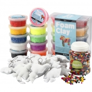 Ugly Monster, mixade färger, china berry, large, 1set