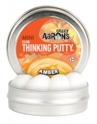Crazy Aarons thinking putty Amber