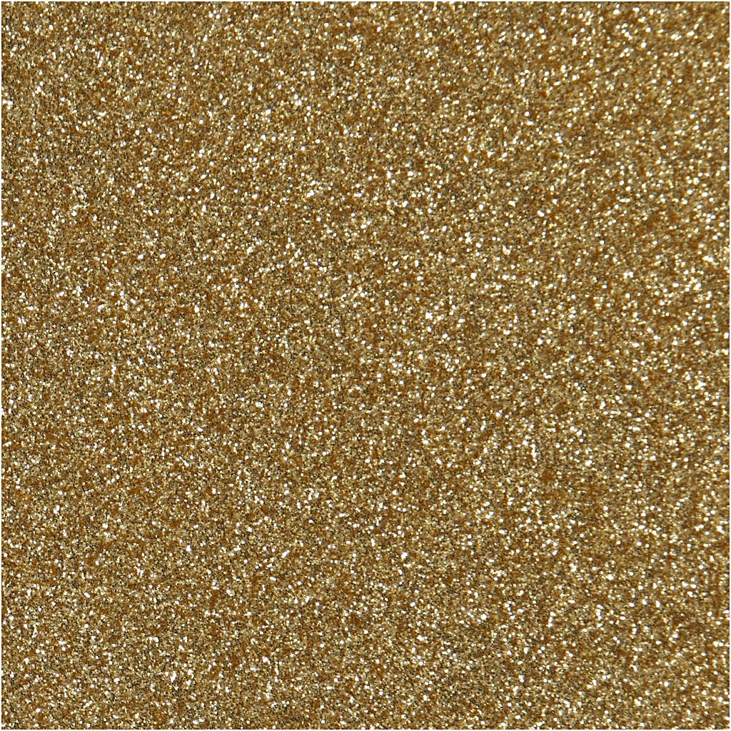 cb300c235 Stryktyg, A5 14,8x21 cm, guld, glitter, 1ark