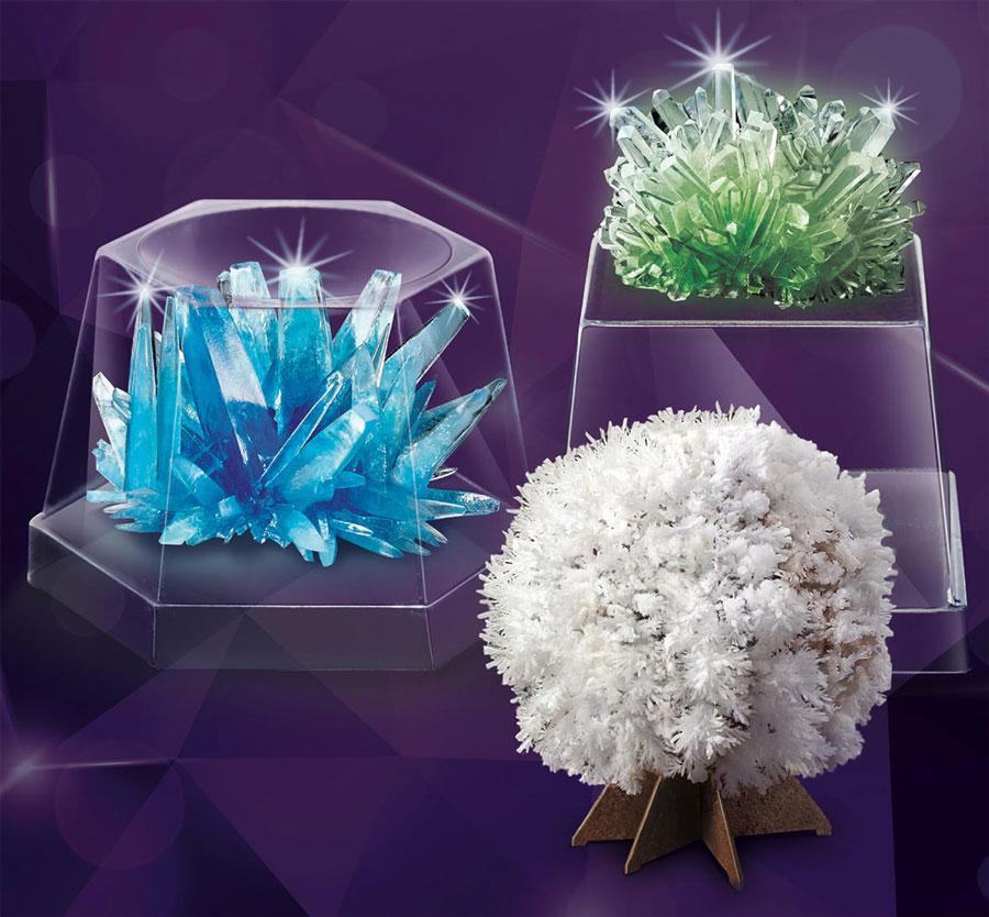 Framställ egna kristaller med detta experimentset